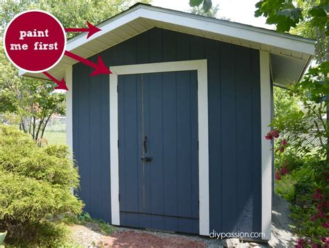 shed colors how to paint your shed the right way diy
