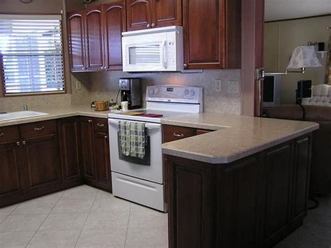 kitchen cabinets for mobile homes mobile home kitchen made out of maple cabinets and alder 8036