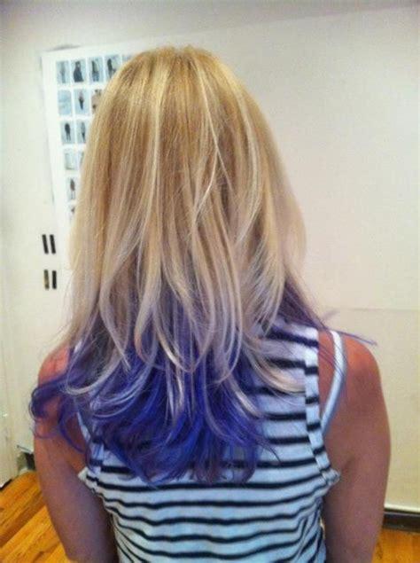 17 Best Ideas About Blue Hair Underneath On Pinterest