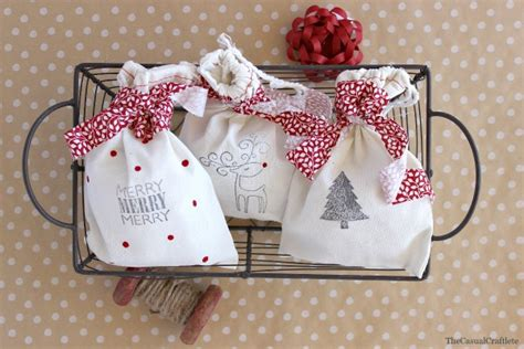 diy sted christmas gift bags bloggers best 12 days of