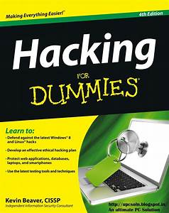 Pc Tricks  Tips  And Hacks    Hacking For Dummies 4th
