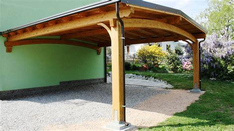 tettoia legno auto tettoia auto in legno cant 249 proverbio outdoor design