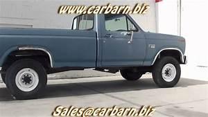 Sold  - 1985 Ford F250 Reg  Cab Diesel 4x4 At Car Barn In Fruita  Co