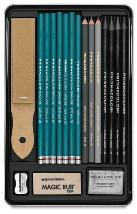 prismacolor graphite drawing set blick art materials