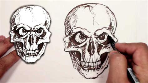 draw  skull halloween drawing mat youtube