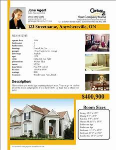 Printforlesscanadacom free century 21 listing sheet for Real estate feature sheet template free