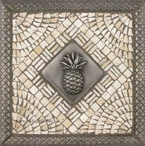 kitchen backsplash medallions pineapple kitchen backsplash tile mosaic medallion pineapple tiles