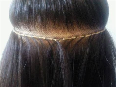 Hairstyles With Tracks Sewed In by Want Flat Tracks Braidless Sew In Tracks By Tonee Shaw
