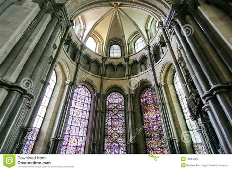 Canterbury Cathedral Interior Stock Image  Image Of