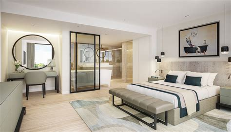 luxury open plan ensuite beautiful bathrooms and luxury contemporary master bedroom suite with open plan