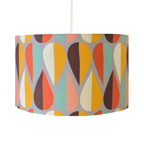 Retro Lamp Shades Uk retro autumn lampshade by hunkydory home