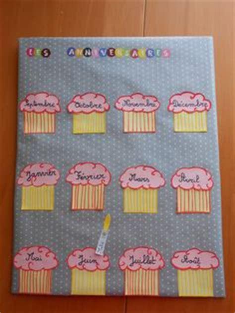 calendrier des anniversaires maternelle portrait