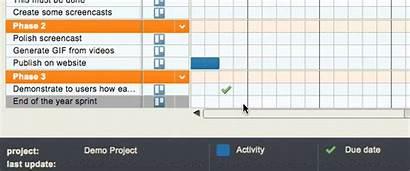 Trello Gantt Chart Grid Due Date Activity