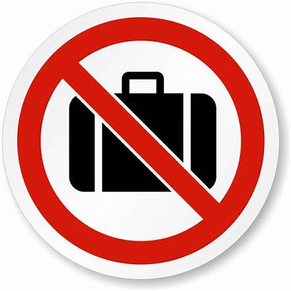Claim Baggage Sign Iso Symbol Signs Action