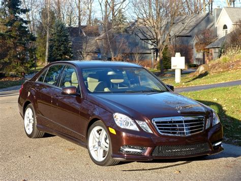 New car prices, special offers, reviews Review: 2013 Mercedes-Benz E550 4Matic - The Truth About Cars