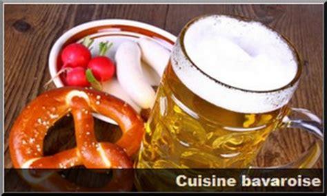 cuisine bavaroise visiter la bavière guide voyage bavière