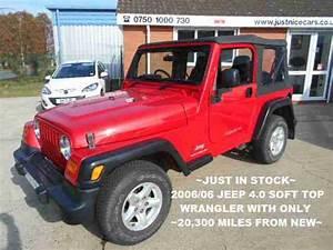 Jeep 2006 06 Wrangler 4 0 Sport Soft Top