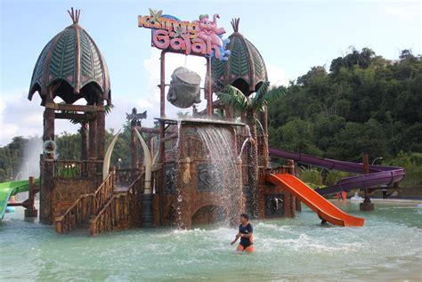 wisata kampung gajah bandung tempat rekreasi  lengkap