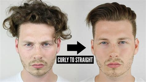 How To Make A Cool Hairstyle For Guys by Mens Curly To Hair Tutorial How To Style Curly