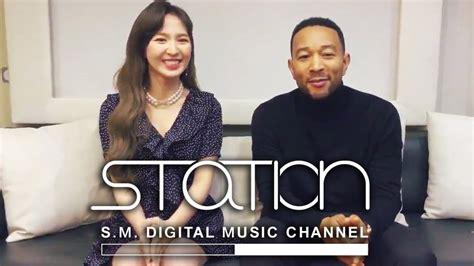 [smstation X 0] John Legend And Red Velvet's Wendy