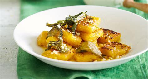 roast pumpkin gnocchi  lemon herb butter recipe