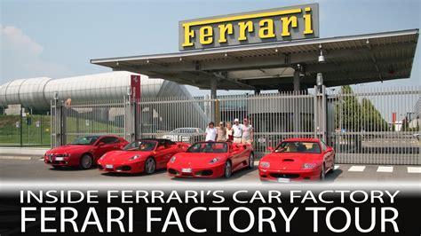 ferrari factory car passion inside ferrari s car factory ferrari