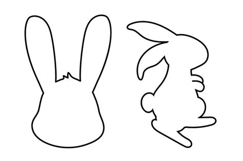 Bunny Rabbit Templates Free by Easter Bunny Template The Best Ideas For