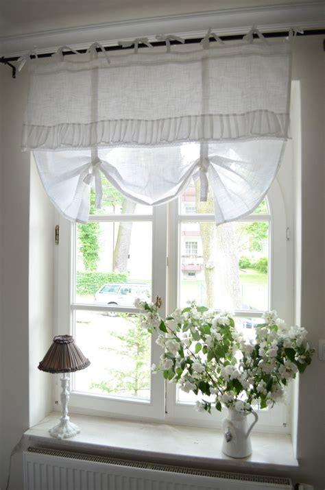 Gardinen Schwedischer Stil by Bedroom Window Treatment White Grey Black Chippy
