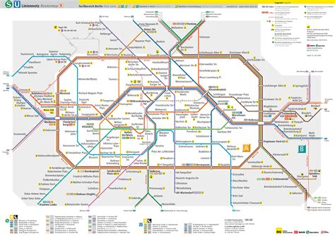 Carte Metro Pdf by Plan Gratuit De Berlin Pdf 224 T 233 L 233 Charger