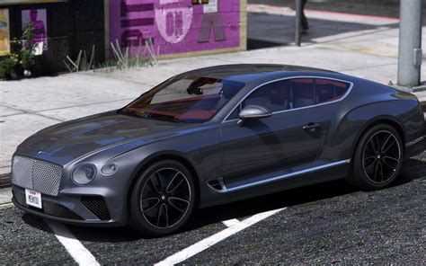 Bentley Continental Gt 2018 1.0 [replace/addon]