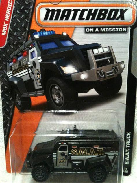matchbox swat truck matchbox diecast cars trucks