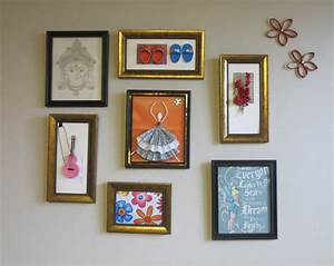 Wall art design photo collage awesome