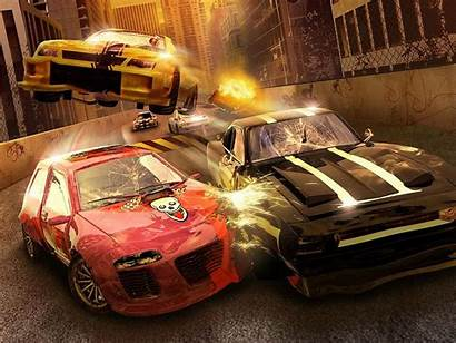 Crash Accident Wallpapers Accidents Yellow Games Background