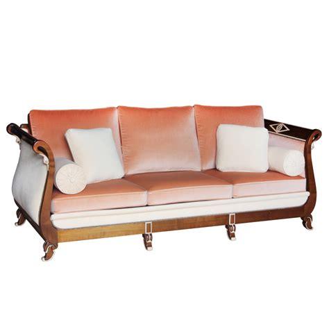 canapé de repos canapé lit de repos col de cygne style empire empire