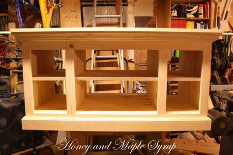 woodwork built  tv stand plans  plans