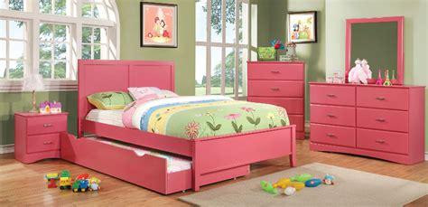 prismo pink wood bedroom set las vegas furniture store