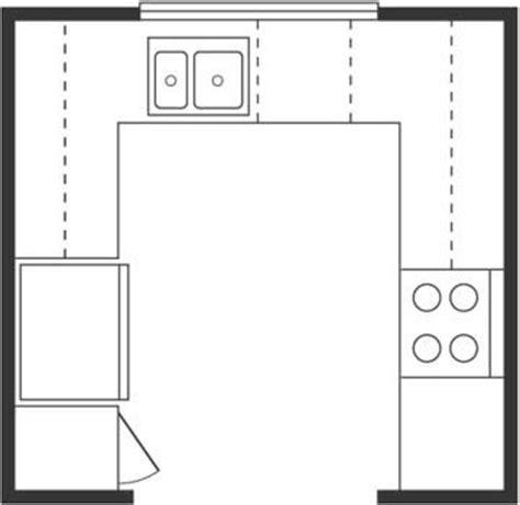 small u shaped kitchen floor plans wichtige k 252 chen grundrisse entw 252 rfe und musterk 252 chen 9358