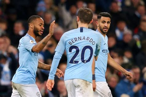 Huge Star Benched; Sane To Start   4-3-3 Manchester City ...