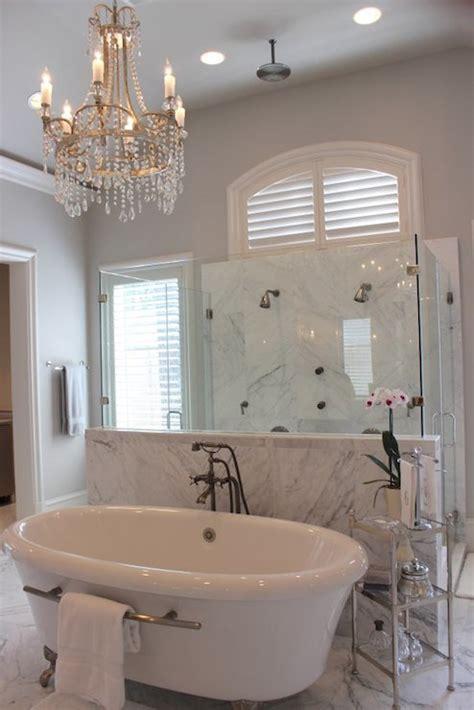 bathtub  towel bar transitional bathroom talbot