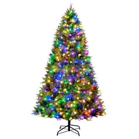 9 800 multi color c3 led light indoor tree