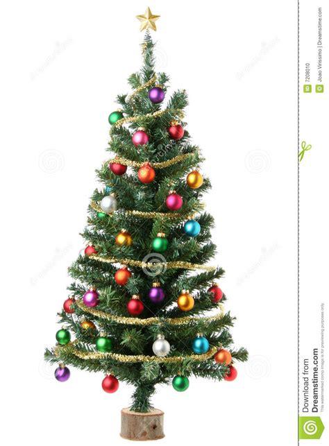 christmas tree stock photo image of multicolor happy
