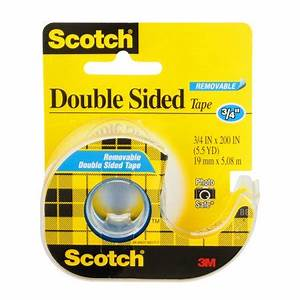 Scotch Double Face : scotch double sided tape 3 4 5 5 yards ~ Melissatoandfro.com Idées de Décoration