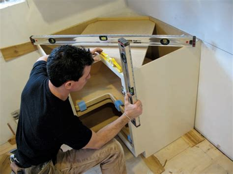 Kitchen Cabinet Installation by How To Install Kitchen Cabinets House Journal Magazine