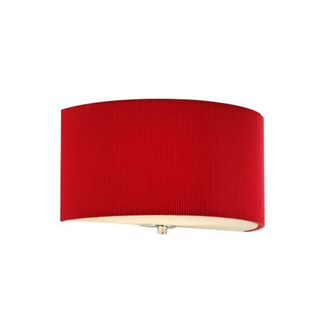 dar zar0125 zaragoza red wall light 1 light wall light
