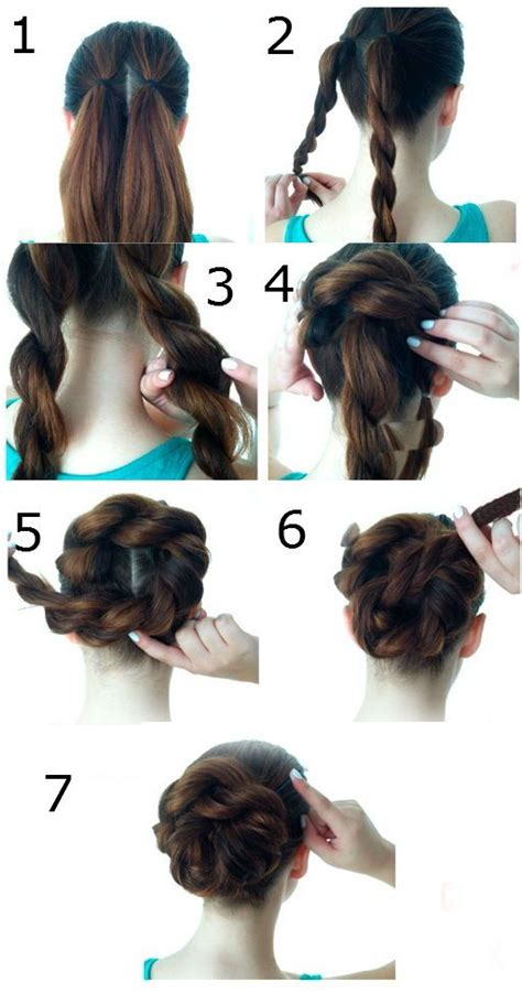 17 best images about step by step hairstyles on pinterest