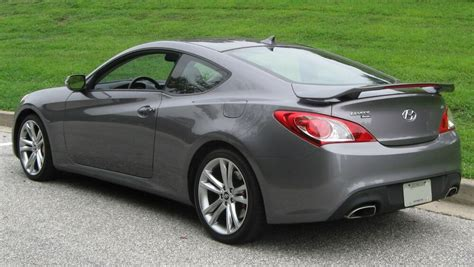 Hyundai didn't dither around with the cabin, either. PAINTED for 2010-2016 HYUNDAI GENESIS COUPE REAR SPOILER W ...