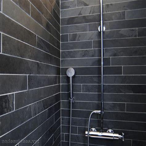 carrelage sol salle de bain noir peinture faience salle de bain