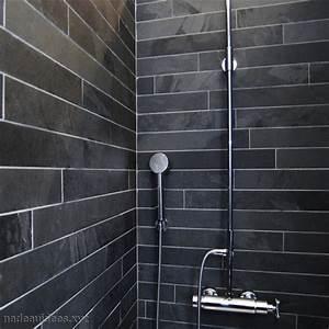 Peinture Salle De Bain Carrelage : carrelage sol salle de bain noir peinture faience salle ~ Dailycaller-alerts.com Idées de Décoration