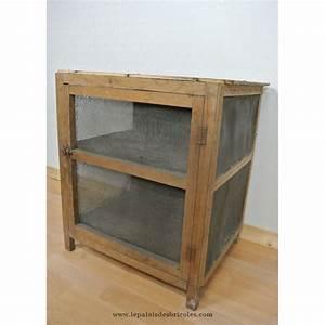 Grillage En Bois : ancien garde manger en bois grillage le palais des ~ Edinachiropracticcenter.com Idées de Décoration