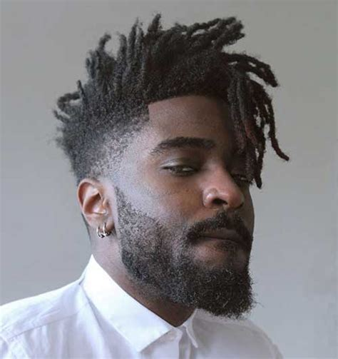 Stilvolle Männliche Afro Amerikanischen Frisuren   Neue